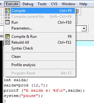 Como compilar programas em C e C++ - 3
