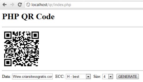 QR Code Script