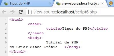 Quebra de linha com php