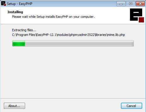 Instalação do EasyPHP - 8